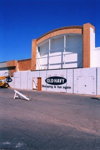 Old Navy Construction