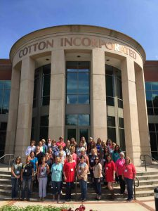 Women in Ag Tour Group at Cotton Incorporated