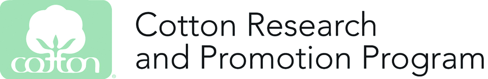 Cotton Research and Promotion Program Logo