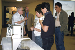 Emerson Tucker with Chinese Visitors