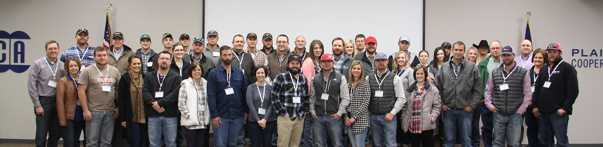 2017 Cooperative Producer Orientation group photo