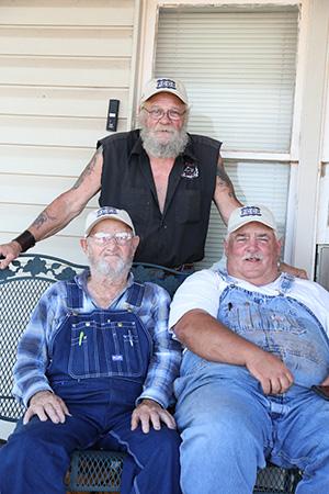 Ira Johnson, Terry Johnson, Jimmy Rhoades