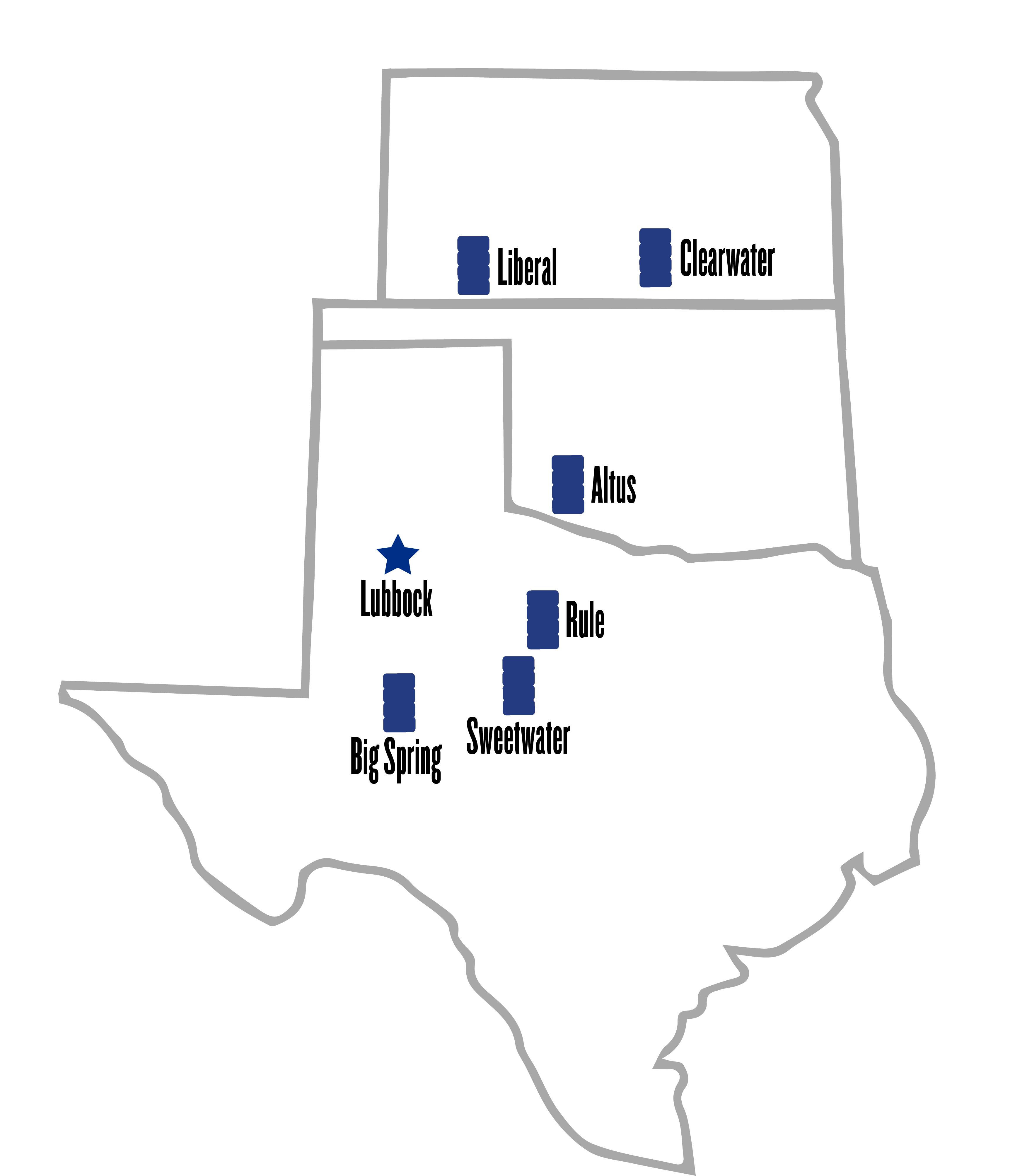 PCCA Warehouse Locations